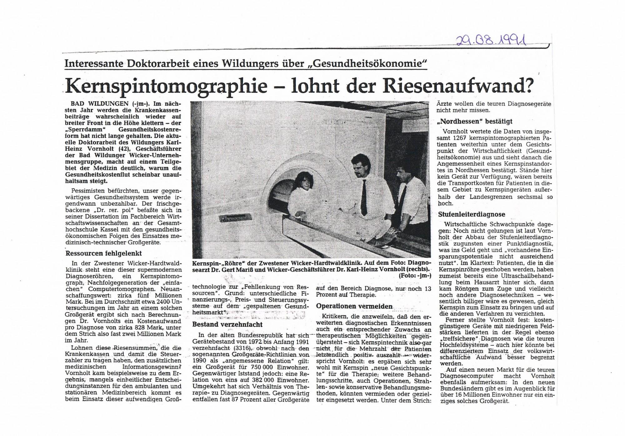 1991-08-29 Kernspintomographie - lohnt der Riesenaufwand-001
