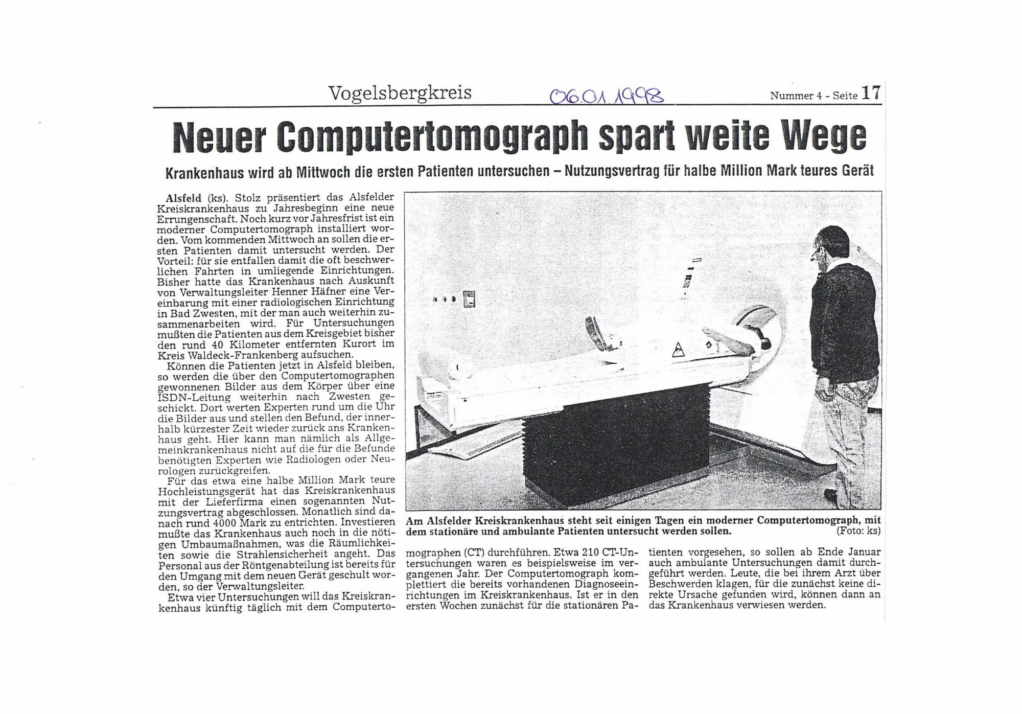 1998-01-06 Neuer Computertomograph spart weite Wege-001