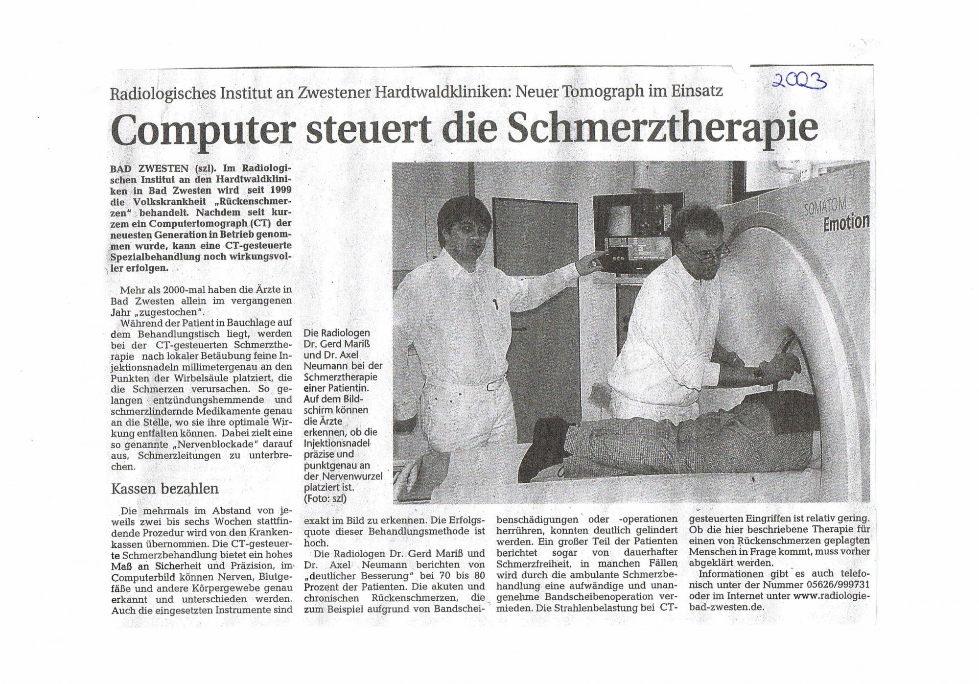2003 Computer steuert die Schmerztherapie-001